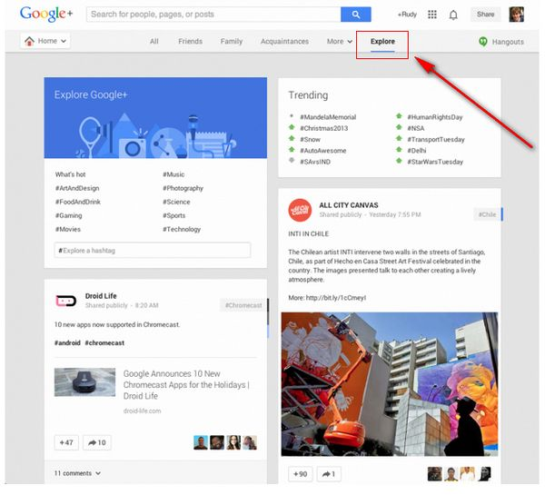 google-plus-explore-tab