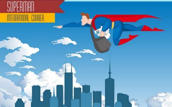 superman-international-courier