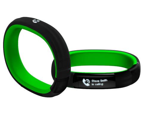 Razer Nabu: La pulsera inteligente que te mantiene conectado e informado #CES2014