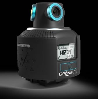 Geonaute: Graba en 360° videos impresionantes en 2K y fotos en 4K #CES2014