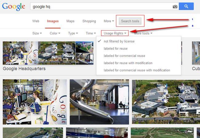 google-images-license