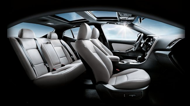 Kia-optima-hybrid-2014-interior
