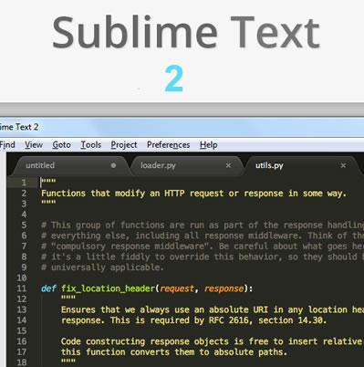 SublimeText 2 : Un sofisticado editor de código para programar más fácil