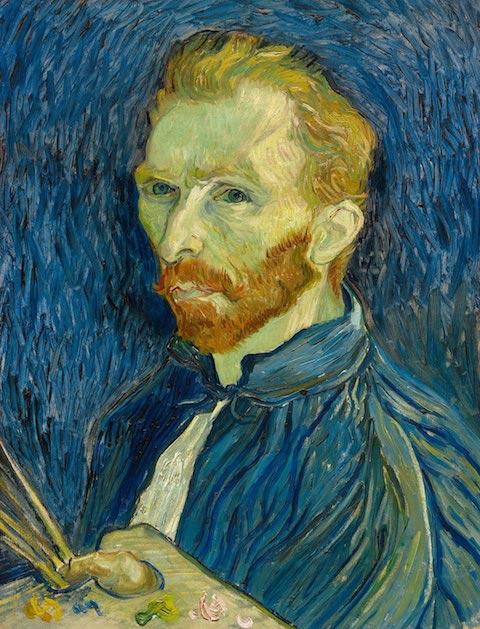 Van-Gogh-Self-Portrait