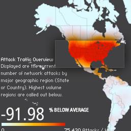 Ataques DDoS a servidores alojados en Estados Unidos