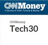 CNNMoney Tech30: Portfolio de u$s1000 en las mejores 30 empresas Tecnológicas mundiales
