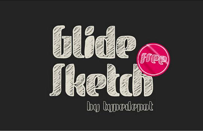 glide-sketch-font
