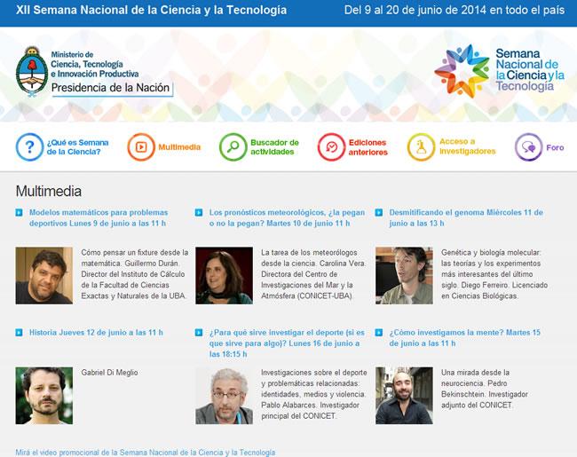 semananacionalcienciatecnologia