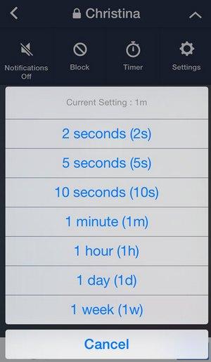 line-hidden-chat-set-time