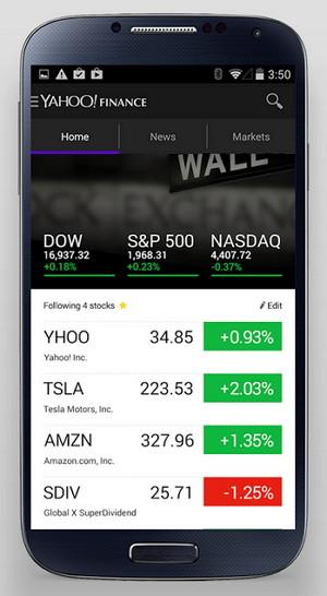 yahoo-finanzas-android