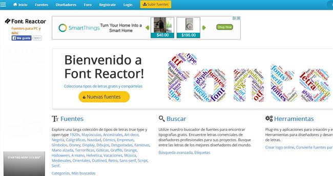 font-reactor