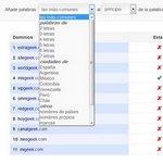 Generador de dominios, servicio en español que te ayuda a obtener nombres de dominio