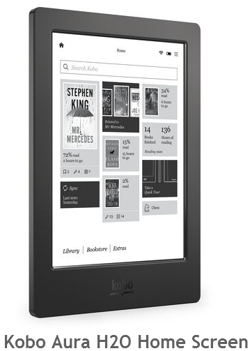 kobo-aura-h20-home-screen