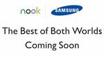 Samsung y Barnes & Noble lanzan un vídeo ad de su próxima tableta Nook