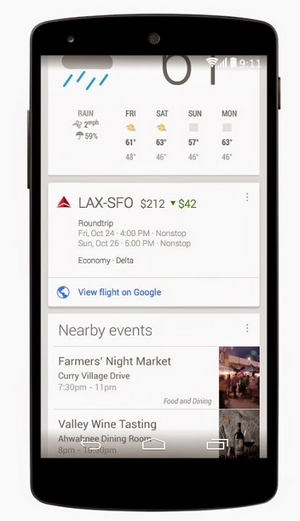 google-now-airfare