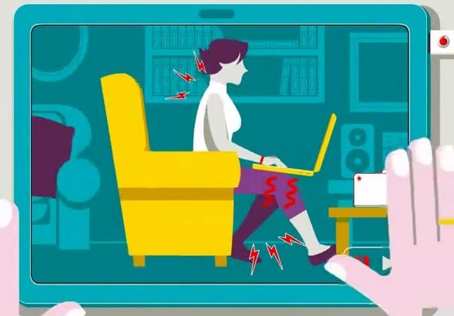 postura-animación-frente-al-ordenador