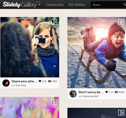 Slide.ly Gallery : Para crear muy bellas galerías e insertarlas en tu Blog