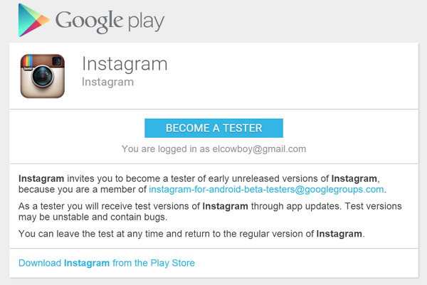 instagram-android-beta-tester