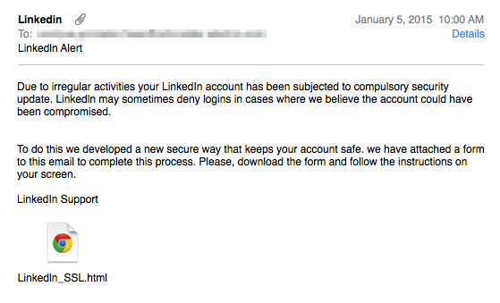 linkedin-email-phishing-attack