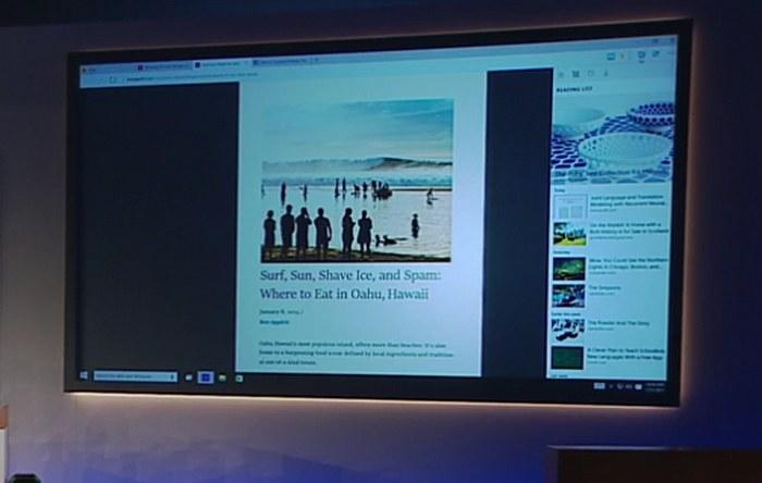 Microsoft mostr su nuevo browser con nombre de c digo for Codigo nuevo instagram