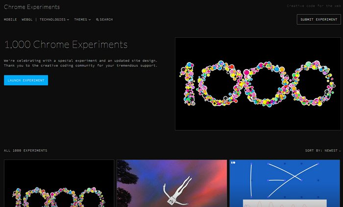 chrome-experiments