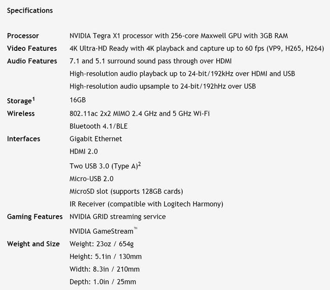 nvidia-shield-tv-specifications