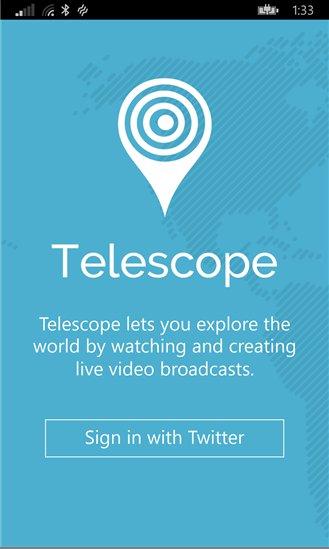telescope-windows-phone
