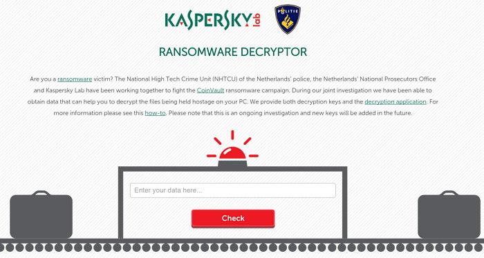 Kaspersky lanza herramienta para descifrar sistemas hackeados por los que piden un pago