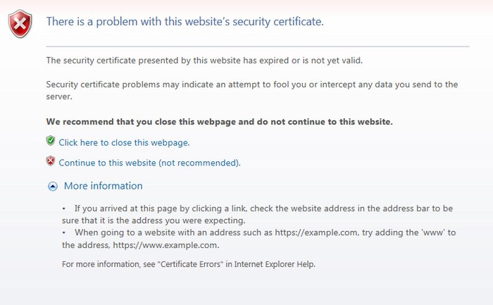 security-certificate-expired