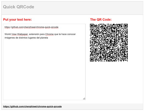 qick-qrcode-chrome-extension