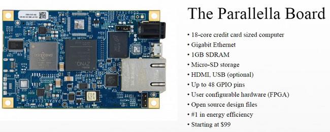supercomputer-parallella-board