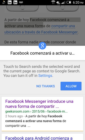 google-touch-to-search