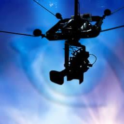 XPortCam : La cámara araña que filma eficazmente en estadios #IND #ARG