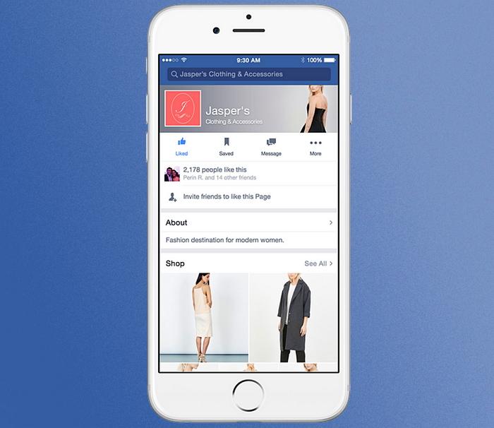 facebook-tiendas-páginas