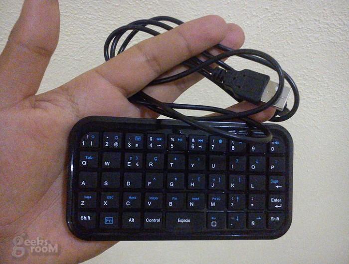 Mini Teclado bluetooth Key Pal Acteck-4