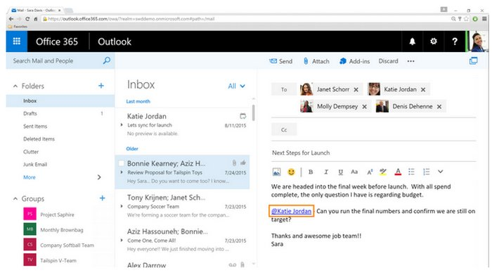 outlook-office-365-mentions