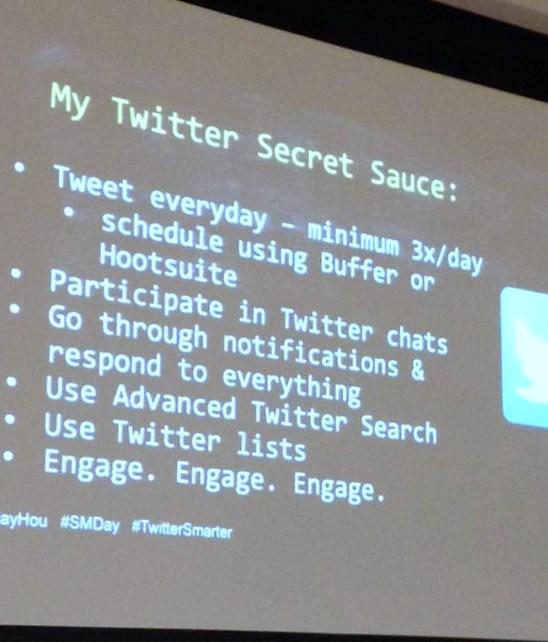 #Twittersmarter #BufferChat . Foto de @MadalynSklar