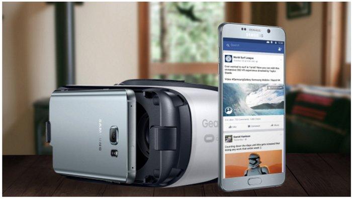 Samsung explica visualmente las características y ventajas de sus gafas Gear VR