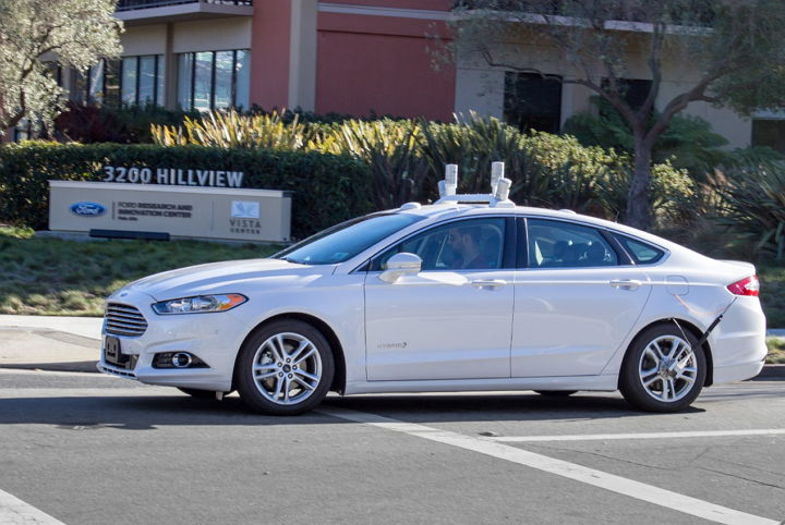 ford-self-driving-car