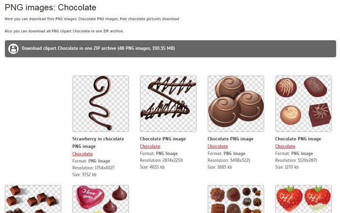 pngimg-chocolate