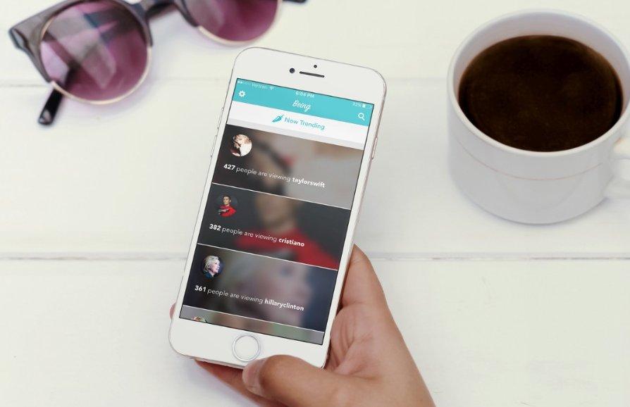Being permite ver la feed de Instagram desde la perspectiva de otro usuario y hasta de celebridades