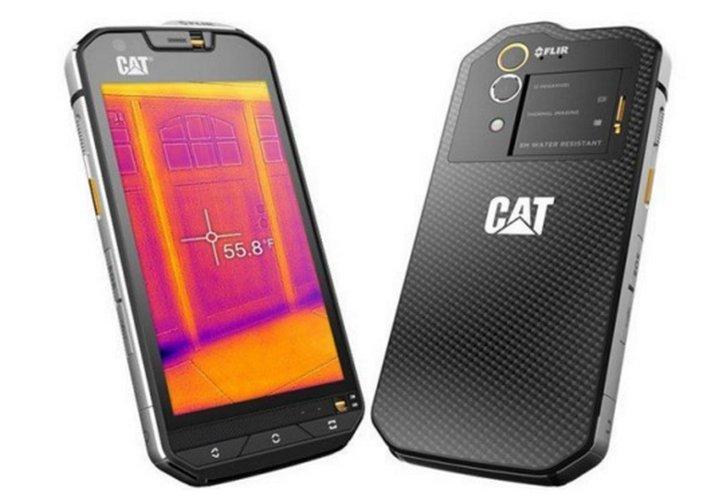 Cat S60 un smartphone sumergible, el primero con cámara termal #MWC2016