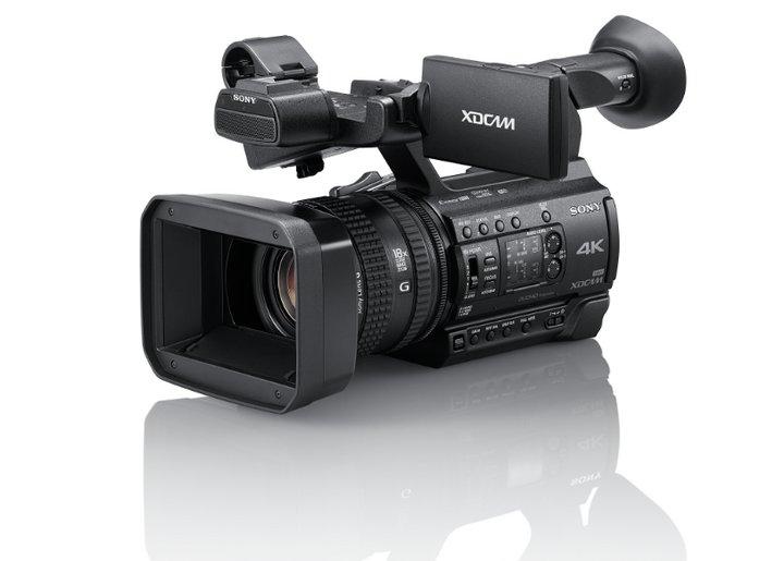 Sony introduce el camcorder profesional compacto PXW-Z150, con transmisión inalámbrica y grabación en 4K
