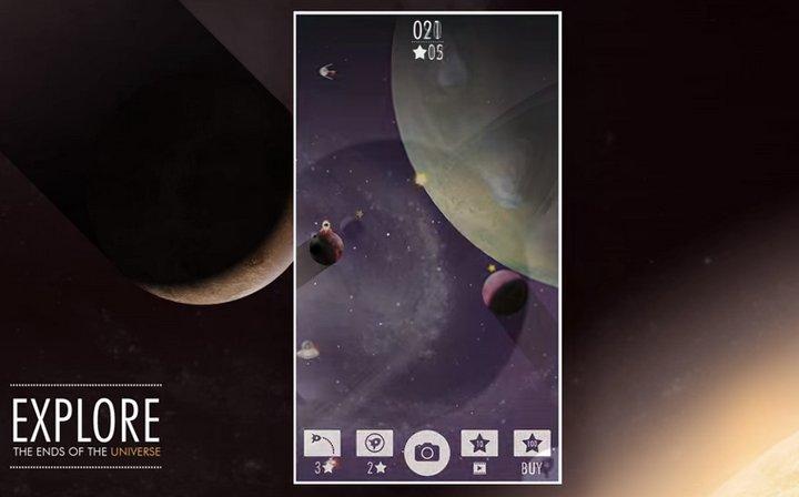 SpaceTom, entretenido juego móvil que además permite crear fondos de pantalla estupendos para tu terminal