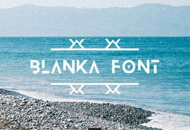 blanka-font