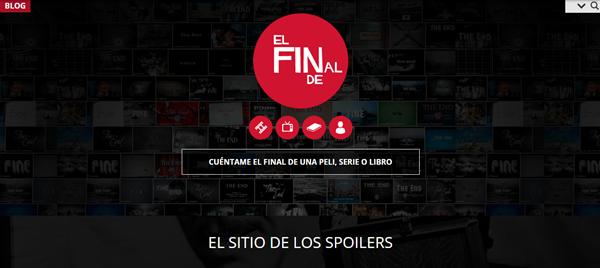 El Final De, nuevo servicio con finales de películas, series y libros (spoilers) para ayudar a los olvidadizos