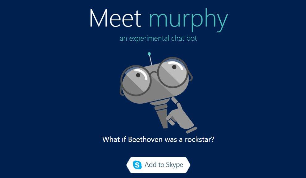 Microsoft introduce Project Murphy, bot para Skype que intercambia la cara entre dos personas en imágenes #Build2016