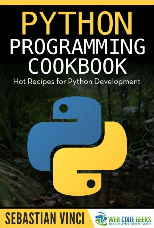 Python Programming CookBook, eBook gratis por tiempo limitado