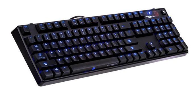 Teclado Ttesports Poseidon Z Touch para Gaming permite programar barra espaciadora