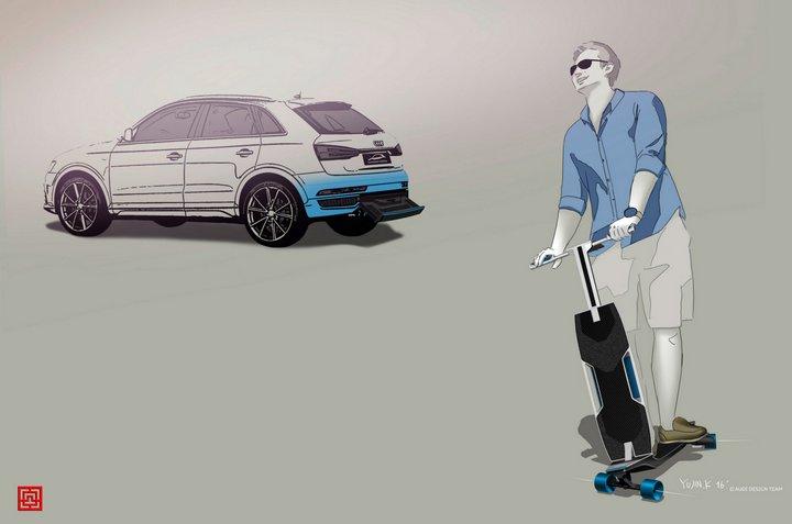 Audi presenta concepto de automóvil que ofrece solución de movilidad combinada para grandes ciudades